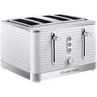 Buy Russell Hobbs 24380 Inspire 4 slot Toaster - White - Robert Dyas