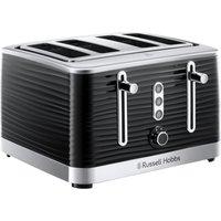 Buy Russell Hobbs 24381 Inspire 4 Slot Toaster - Black - Robert Dyas