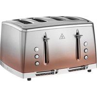 Buy Russell Hobbs 25143 Eclipse 4-Slice Toaster - Copper Sunset - Robert Dyas