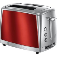 Buy Russell Hobbs 23220 Luna 2 Slice Toaster - Red - Robert Dyas