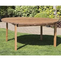 Charles Taylor Eight Seater Wooden Round Table