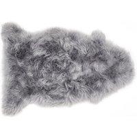 Robert Dyas Genuine Sheepskin Single Rug - Grey