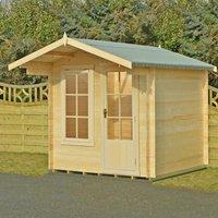 Shire Crinan Log Cabin - 8ft x 8ft