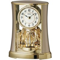 Seiko Rotating Pendulum Clock - Antique Gold