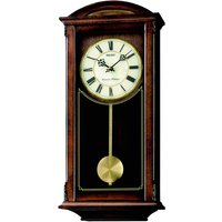 Seiko Westminster/Whittington Dual Chime Wall Clock with Pendulum - Brown