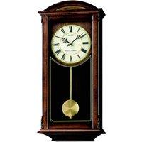 Seiko Westminster/Whittington Dual Chime Wall Clock with Pendulum - Brown