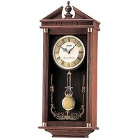 Seiko Westminster/Whittington Dual Chime Wall Clock with Pendulam