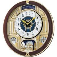 Seiko Melody in Motion Wall Clock with Rotating Pendulum
