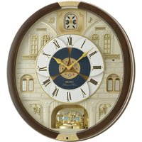 Seiko Melody in Motion Wall Clock with 18 Melodies