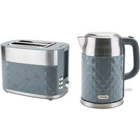 Buy Prestige 66761 Prism 1.7L Kettle and 2-Slice Toaster Set - Grey - Robert Dyas