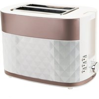 Buy Prestige Prism 2-Slice Toaster - Rose Gold - Robert Dyas