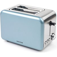 Buy Salter EK2652BLUE Metallics Polaris 850W 2-Slice Toaster - Pearl Blue - Robert Dyas