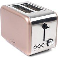 Buy Salter EK2652CHAMPAGNE Metallics Polaris 850W 2-Slice Toaster - Champagne - Robert Dyas