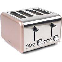 Buy Salter EK3352CHAMPAGNE Metallics Polaris 4-Slice Toaster 1500W - Champagne - Robert Dyas