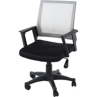 Core Products Corinthia Loft Home Office Chair with Mesh Back - Grey