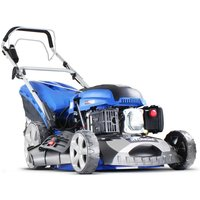 Hyundai HYM460SPE Push Button Electric Start Petrol Lawnmower 139cc self propelled 46cm