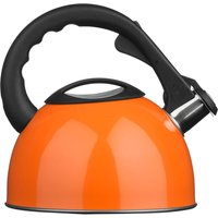 Premie Housewares Premier Housewares 2.5L Stainless Steel Whistling Kettle - Orange