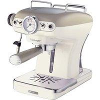 Robert Dyas Ariete AR8913 Vintage Espresso Coffee Maker - Cream