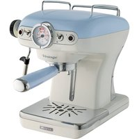 Robert Dyas Ariete AR8915 Vintage Espresso Coffee Maker - Blue
