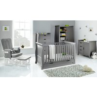 Robert Dyas Obaby Stamford Classic Sleigh 5 Piece Room Set - Taupe Grey