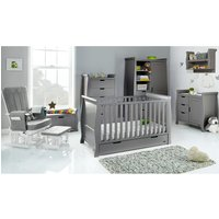 Robert Dyas Obaby Stamford Classic Sleigh 7 Piece Room Set - Taupe Grey