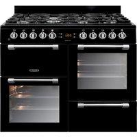 Robert Dyas Leisure CK100G232K 100cm Cookmaster Gas Range Cooker - Black