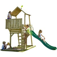 Robert Dyas TP Toys Kingswood Normandy Wooden Climbing Frame and Slide