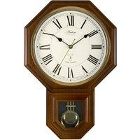 Acctim Yarnton RC Wood Effect Pendulum Wall Clock
