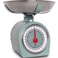 Sabichi Retro Mechanical 5kg Kitchen Scales - Green