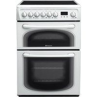 Hotpoint 60HEP 60cm Double Oven Electric Cooker