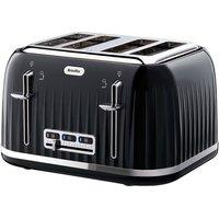 Buy Breville Impressions 4-Slice Wide-Slot Toaster - Black - Robert Dyas
