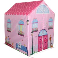 Charles Bentley Childrens Pink Girls Playhouse