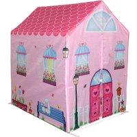 Charles Bentley Childrens Pink Girls Playhouse