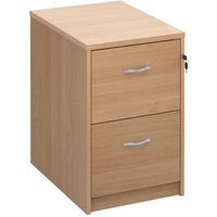 Dams Two-Drawer Executive Filing Cabinet 730mm - Beech