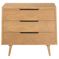 Charles Bentley Skandi Chest of Drawers - Ash