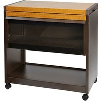 Hostess Heated Trolley Golden Oak Effect - Hl6200go
