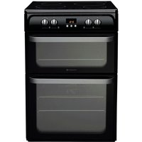 Hotpoint Ultima HUI614K Electric Cooker - Black