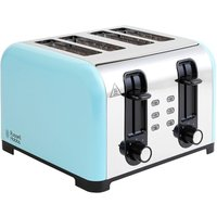 Buy Russell Hobbs Oslo Four Slice Toaster - Blue - Robert Dyas