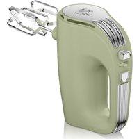 Swan Retro 5 Speed Hand Mixer - Green