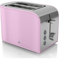 Buy Swan Retro 2 Slice Toaster - Pink - Robert Dyas