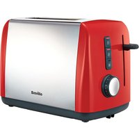 Buy Breville VTT757 Colour Collection 2-Slice Toaster - Red - Robert Dyas