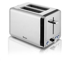 Buy Swan 2-Slice Polished Stainless Steel Toaster - Robert Dyas