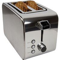 Buy Igenix 2-Slice Toaster - Stainless Steel - Robert Dyas