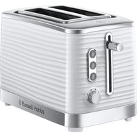 Buy Russell Hobbs Inspire 2-Slice Toaster - White - Robert Dyas