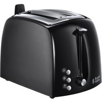 Buy Russell Hobbs Textures Plus+ Toaster - Black - Robert Dyas