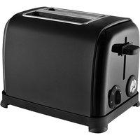 Buy KitchenOriginals by Kalorik 2-Slice Toaster - Matte Black - Robert Dyas