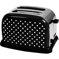 Buy KitchenOriginals by Kalorik Polka Dot Two Slice Toaster - Black - Robert Dyas