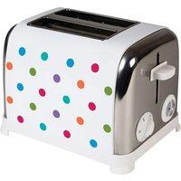 Buy KitchenOriginals by Kalorik Polka Dot Two Slice Toaster - Bright Spot - Robert Dyas