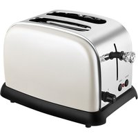 Buy KitchenOriginals by Kalorik 2-Slice Diamond Tip Toaster - Pearlescent Cream - Robert Dyas