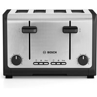 Buy Bosch City 4-Slice Toaster - Stainless Steel - Robert Dyas